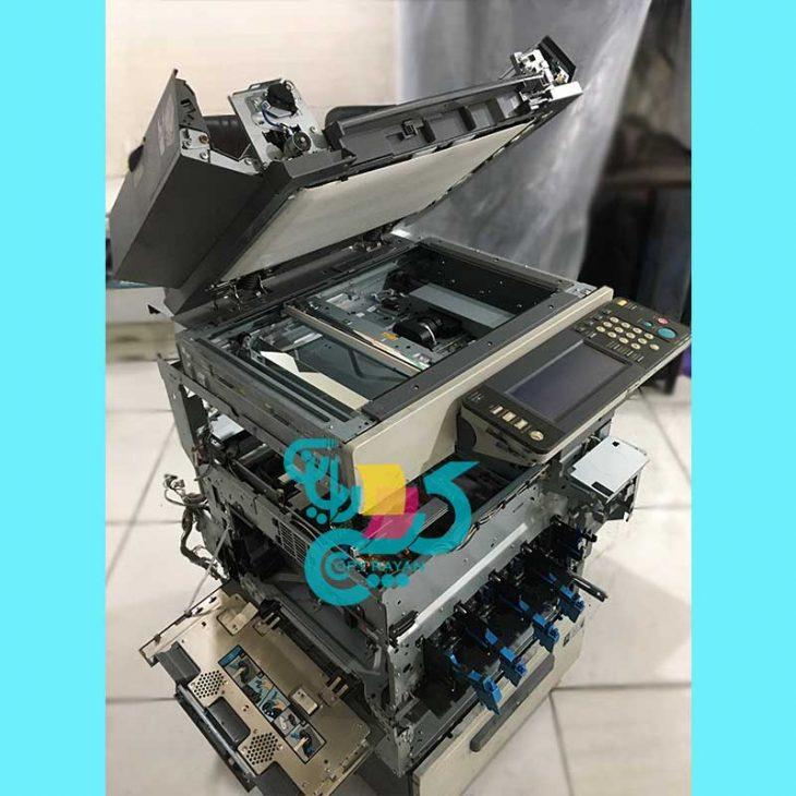 سرویس دستگاه کپی رنگی کونیکا مینولتا